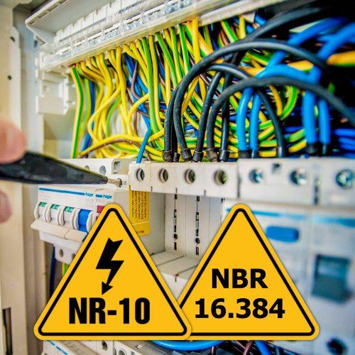 """A """"nova NR-10"""" e a NBR 16.384"""